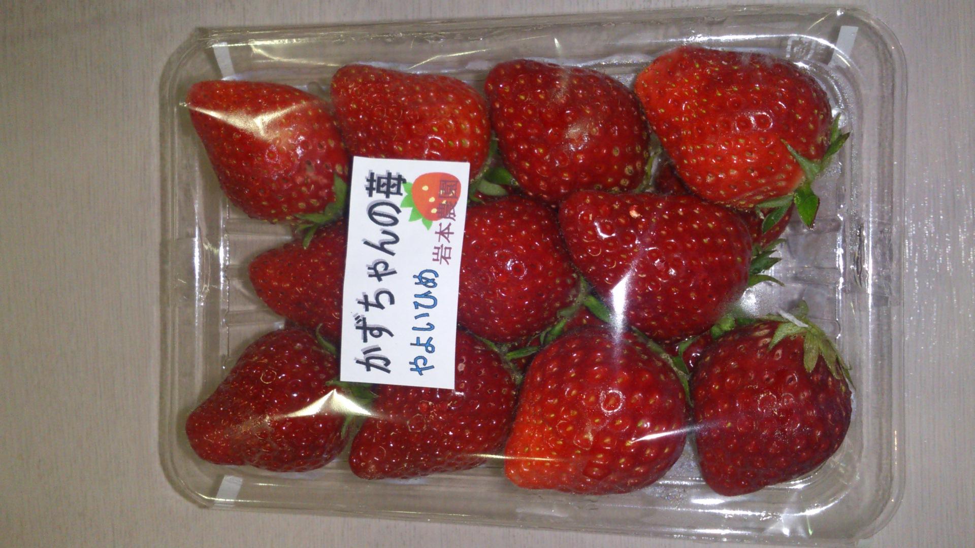 かずちゃんの苺